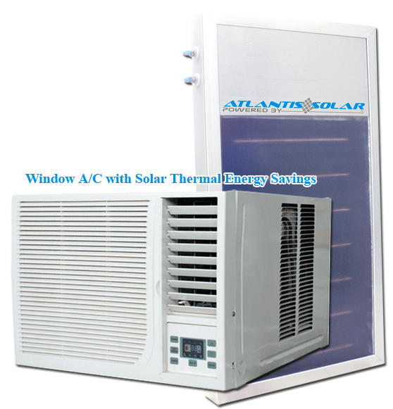 Thermal Window Solar Air Conditioner